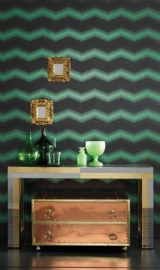 Osborne & Little Zanetti #Geometric #Lush #Interior #Design