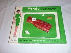 VINTAGE 60s WENDY DOLL WARDROBE DRESS ELITE CREATIONS SERIES 41 #3  BARBIE CLONE