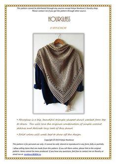 Ravelry: Purchase from Store: Katya Novikova Designs