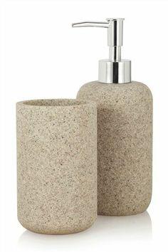 Grey Resin Bathroom Set  Myymälätila  Pinterest  Bathroom Awesome Bathroom Accessories Sets Design Inspiration