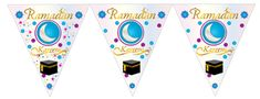 Ramadan Bunting 2metres, £4  Use Discount code: 20%SAVING   Order Today in time for Ramadan! 20% off all our Ramadan & Eid products.