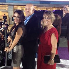 Pattie, Bruce and Diane at the premiere!