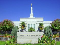 Fresno, CA, LDS Temple. I visited this temple once with my family. We went with my uncle.