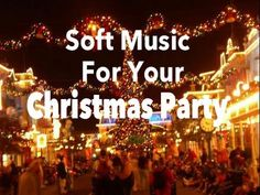 Soft Christmas Party Music - Music mix of Soft Relaxing Christmas Songs Music featured in this video is is available in a 3 CD set that makes a perfect holid. Christmas Mix, Christmas Tunes, Christmas Carol, All Things Christmas, Christmas Holidays, Christmas Videos, Christmas Songs Youtube, Xmas Songs, Xmas Music