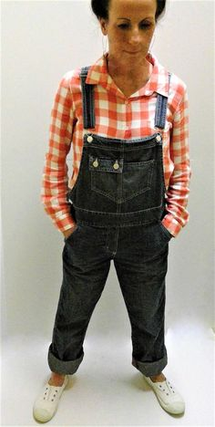 Vintage Dungarees Denim Overalls  New York and Company