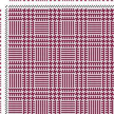 draft image: Karierte Muster Pl. VIII Nr. 3, Die färbige Gewebemusterung, Franz Donat, 2S, 2T