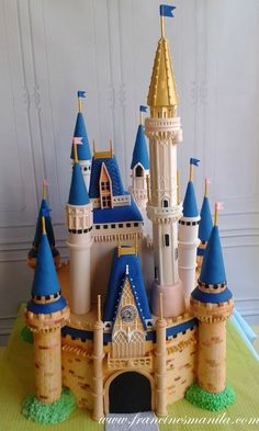 I Want To Live In This Cinderella Castle Cake made by Francine's Sweet Treats