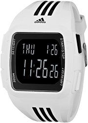 e32c221bbb8 adidas Unisex ADP6091 Duramo XL Digital Watch with White Case and Strap