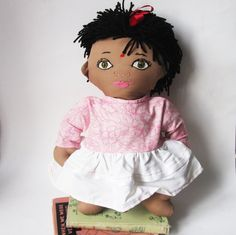 Custom  New Baby or Adoption Doll  India Sri Lanka or by Meoneil, $45.00