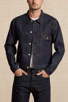 1936 type i куртки леви vintage clothing ian wallace in 2019 Vintage Levis, Vintage Men, Vintage Outfits, Vintage Clothing, Levis Jacket, Denim Jackets, Raw Denim, Denim Jeans, Western Outfits