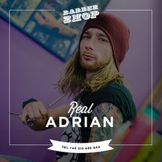 Adrian. BarberShop Gdansk.