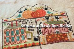 Patchwork *Pink Caramel*: Autumn at Hawk Run Hollow 1