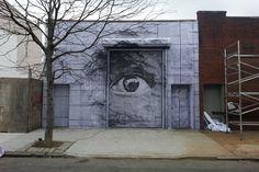 JR and Daniel Arsham – New Mural In New York