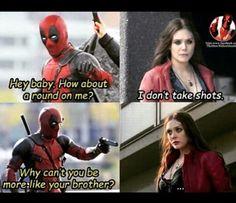 Deadpool v. Wanda