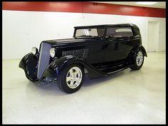 1934 Chevrolet Victoria Street Rod 502/502 HP, Fiberglass Body presented as lot K229 at Kissimmee, FL 2013 - image1