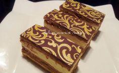 Tie najlepšie medové rezy: Topľanské medové rezy - Báječná vareška Czech Recipes, Ethnic Recipes, Chocolate Deserts, Thing 1, Halloween Cookies, Tiramisu, Cupcakes, Baking, Food
