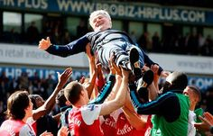 44 Years As Gunners. Good Bye And Thank You For Everything, We'll Really Miss You... Opa Pat Rice! Brilliant man.
