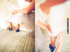 blue wedding shoes? yes please | CHECK OUT MORE IDEAS AT WEDDINGPINS.NET | #weddingshoes