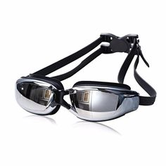 77c8c4f7f3 DEESEETM Adult Professional Waterproof Swim Glasses AntiFog UV Protect Swimming  Goggles Black     Continue