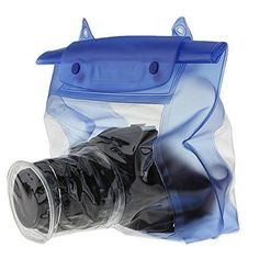 Yosoo Blue Waterproof Digital Camera DSLR Underwater Diving Floating Pouch Case Housing Dry Bag For Canon Sony Nikon D7000