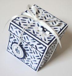 Papierkram: Die blaue Box...