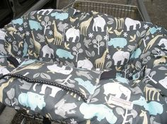 I feel that a shopping cart cover is necessary to protect your baby from germs, rust, and sharp corners that could be present on grocery carts. Just toss in the washer to clean.