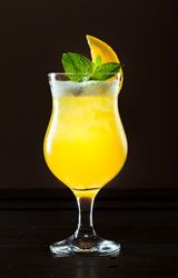 Cockail à l'orange et au cognac, un cocktail simple et leger