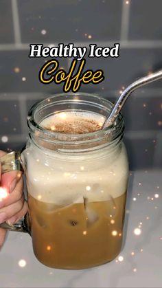 Starbucks Recipes, Coffee Drink Recipes, Cold Brew Coffee Recipe, Starbucks Pumpkin, Starbucks Drinks, Healthy Iced Coffee, Yummy Drinks, Healthy Drinks, Yummy Food
