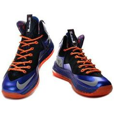 http://www.asneakers4u.com/ Nike LeBron 10 P.S. Elite Royal Blue/Orange