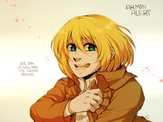 Armin Alert by Aishishi.deviantart.com on @DeviantArt