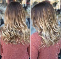 Balayage, Gloss, and Haircut by Bella Salon Of Naples stylist Jenny