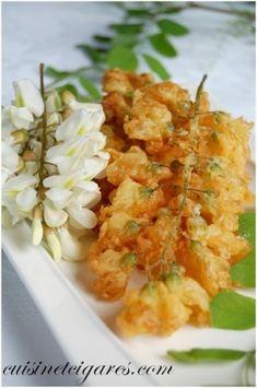 Beignets de Fleurs d'Acacia et de Sureau