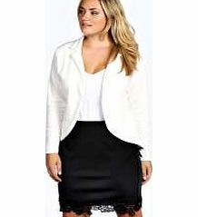 boohoo Astrella One Button Ponte Blazer - ivory pzz99741 Pick this ponte blazer for dressing up your skinnies on those slightly dressier days. Pair with a basic tee , skinny jeans and brogues for a smart-casual combo. http://www.comparestoreprices.co.uk/womens-clothes/boohoo-astrella-one-button-ponte-blazer--ivory-pzz99741.asp