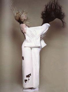 Soo Joo Park & Sui He for CR Fashion Book #2 by Brigitte Niedermair.