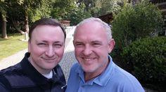 Mit Dirk Harbecke (Geschäftsführer Kreuser Papier GmbH)