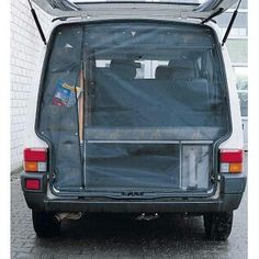 Great idea for a camper van