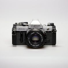 Vintage Canon AE-1 Camera, My 3rd  SLR - 1984.