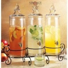 Awesome Host - Offering 3 different cold drinks at
