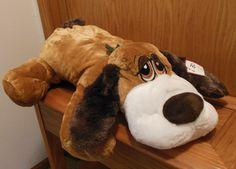 Big stuffed dog.  Would make a great Christmas gift!