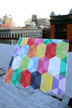 disco quilt5 - Stunning Quilt! #spiceberrycottage #fabric #quilts