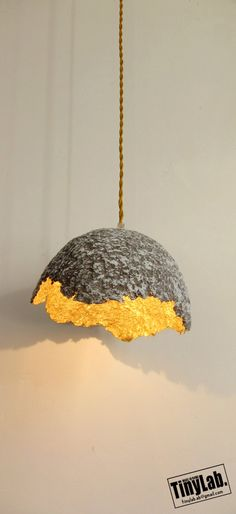 EGGSHELL ceiling lamp paper mache par TinyLabmadeinrome sur Etsy