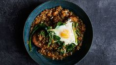 Lentil and Egg Stew Recipe | Bon Appetit