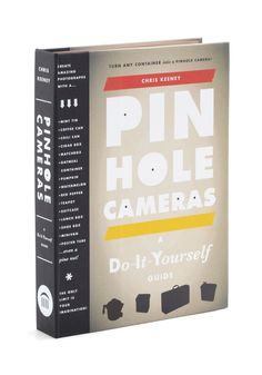Love it! Why wasn't I doing this as a child for science and shiggles huh?   Pinhole Cameras by Chronicle Books - Multi, Handmade & DIY