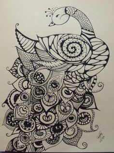 Previous Pinner said : My peacock