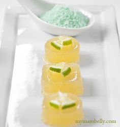 A margarita recipe with tequila, lime, salt and gelatine. A margarita jello shot recipe that will have your friends begging for you margarita recipe.