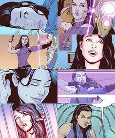 zubat:  Kate Bishop as Hawkeye.