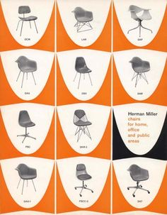 Herman miller  furniture co in MI 1923  Headed by George Nelson starting 1946   Manufactured Eames and Noguchi designs  Residential and commercial Modern Furniture