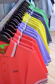Find Hugo Boss Polos for men online now at OD's… Polo Shirt Outfits, Mens Polo T Shirts, Golf Shirts, Hugo Boss, Hugo Men, Polo Shirt Design, Polo Design, Camisa Polo, Clothing Store Displays