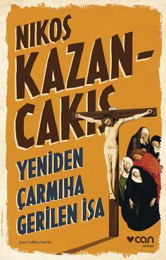 Nikos Kazancakis, Yeniden Çarmıha Gerilen İsa book cover design
