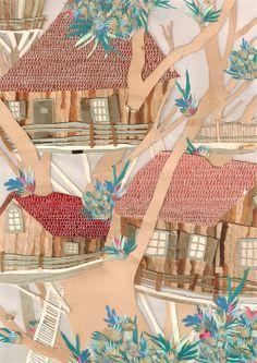 23 / Invitada: Rocío Fernandez Fuks / Ciudades / from: La vuelta al mes en 30 ilustradores